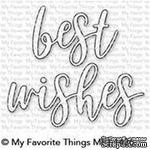 Лезвие нож My Favorite Things - Best Wishes Die-namics - ScrapUA.com