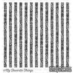 Резиновый штамп My Favorite Things - BG Distressed Stripes Background - ScrapUA.com