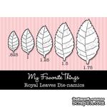 Набор лезвий My Favorite Things - Die-namics Royal Leaves (MFT161) - ScrapUA.com