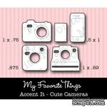 Левие My Favorite Things - Die-namics LLD Accent It - Cute Cameras (MFT-0251) - ScrapUA.com