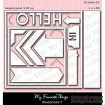 Левие My Favorite Things - Die-namics Blueprints 7 (MFT370) - ScrapUA.com