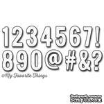 Левие My Favorite Things - Die-namics LLD Little Numbers (MFT394) - ScrapUA.com