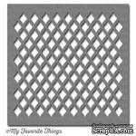 Маска My Favorite Things - Stencil MPD Fishnet, 15х15 см - ScrapUA.com