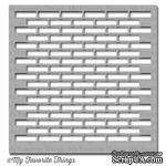 Маска My Favorite Things - Stencil Small Brick Wall, 15х15 см - ScrapUA.com
