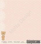 """Лист односторонней бумаги от Mona Design - """"Я расту"""" new, коллекция """"Моя Малышка"""", 30,5х30,5 см, плотность 190 гр\м2 - ScrapUA.com"""