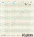 """Лист односторонней бумаги от Mona Design - """"Нежный Малыш"""", 30х30см - ScrapUA.com"""