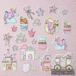 """Набор высечек от Mona Design """"Розовый единорог"""" - ScrapUA.com"""