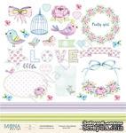 """Лист для вырезания от Mona Design - """"Fancy Spring"""", 30,5х30,5см - ScrapUA.com"""