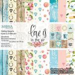 Набор скрапбумаги  от Mona Design - Love is in the air, 10 листов+полоска карточек, арт 85702 - ScrapUA.com