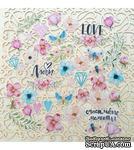 Набор высечек от Mona Design - Love is in the air, размер упаковки 10x14,5 см - ScrapUA.com