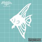 Чипборд от Вензелик - Рыбка 1, размер: 4,9 x 7,6 см - ScrapUA.com