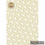 Лист дизайнерской бумаги с рисунком Легко - Веточки, А4 - ScrapUA.com