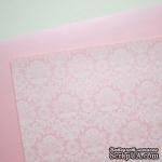 Лист дизайнерской бумаги с рисунком Роскошно 2, цвет Зефир, А4 - ScrapUA.com