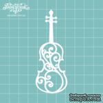 Чипборд от Вензелик - Скрипка 01, размер: 34x89  мм - ScrapUA.com