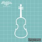 Чипборд от Вензелик - Скрипка 02, размер: 34x89  мм - ScrapUA.com