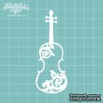 Чипборд от Вензелик - Скрипка 03, размер: 34x89  мм - ScrapUA.com