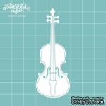 Чипборд от Вензелик - Скрипка 04, размер:  28x75  мм - ScrapUA.com
