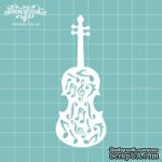 Чипборд от Вензелик - Скрипка 05, размер: 34x90  мм - ScrapUA.com