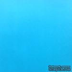 Дизайнерский картон с гладкой фактурой Malmero arctique, размер: 30х30, цвет: голубой, 250 г/м2, 1 шт - ScrapUA.com