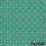 Двусторонний лист бумаги от Authentique - Beaming, 30,5x30,5см - ScrapUA.com