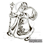 Штамп от Питерского Скрапклуба - Дед Мороз - ScrapUA.com