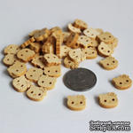 "Деревянная пуговичка ""Hello Kitty"", 1 шт. - ScrapUA.com"