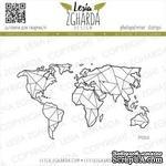 Акриловый штамп Lesia Zgharda Карта велика P004 - ScrapUA.com