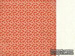 Лист двусторонней скрапбумаги от Kaisercraft - Маки - Remember Me - Estella Paper, 30,5х30,5 см - ScrapUA.com