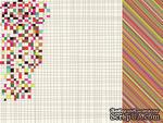 Лист двусторонней скрапбумаги от Kaisercraft - Hopscotch Collection - Marvellous, 30,5х30,5 см - ScrapUA.com