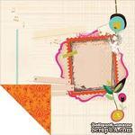 Лист двусторонней скрапбумаги от Kaisercraft - Hopscotch Collection - Wonderous, 30,5х30,5 см - ScrapUA.com