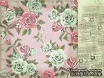 Лист двусторонней скрапбумаги от Kaisercraft - Needle & Thread - Fabric, 30,5х30,5 см - ScrapUA.com