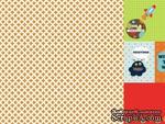 Лист двусторонней скрапбумаги от Kaisercraft - Blast Off Collection - Galaxy, 30,5х30,5 см - ScrapUA.com
