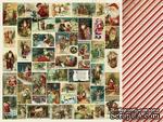 Двусторонний лист скрапбумаги от Kaisercraft - Yuletide Collection - Christmas - Christmas Eve, 30,5 х 30,5 см. - ScrapUA.com