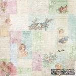 Лист скрапбумаги от Melissa Frances - Little Girls Collage - 30х30 см - ScrapUA.com