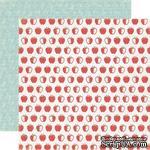 Лист двусторонней скрапбумаги is for Apple - Яблоко, Paper & Glue, Echo Park, 30х30 см - ScrapUA.com