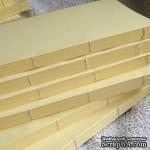 Блок для блокнота А5. Цвет: светло-желтый - ScrapUA.com