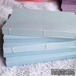 Блок для блокнота А6. Цвет: голубой - ScrapUA.com