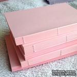 Блок для блокнота А6. Цвет: розовый - ScrapUA.com