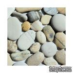 """Салфетка """"Морские камешки"""", размер: 33х33 см - ScrapUA.com"""