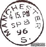 Акриловый штамп PC03d Почтовый штемпель, размер 2,5 * 2,7 см - ScrapUA.com