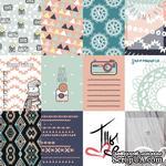 Набор карточек для скрапбукинга от Polkadot - «Тепло и уютно», 7,5х10 см - ScrapUA.com