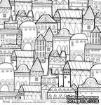 """Лист односторонней скрапбумаги от Polkadot - зимние сны """"Щелкунчик"""",  30,5х30,5 см - ScrapUA.com"""