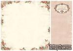 Лист двусторонней бумаги от Pion Design - Rose frame - From my Heart II, 30х30 - ScrapUA.com