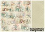 Лист двусторонней бумаги от Pion Design - Cakes - For Mother, 30х30 - ScrapUA.com