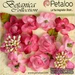 Набор объемных цветов Petaloo - Botanica Minis - Fuchsia - ScrapUA.com