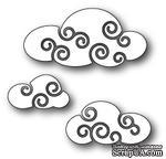 Нож для вырубки от Poppystamps - Twirly Clouds - ScrapUA.com