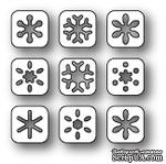 Ножи от Poppystamps - Snowflake Tabs craft die - ScrapUA.com