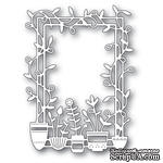 Штампы от Memory Box - Spring Pots Frame - ScrapUA.com