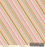 """Лист двусторонней скрапбумаги от October Afternoon - """"Daydream"""" Collection - Paper Lanterns, 30х30 - ScrapUA.com"""