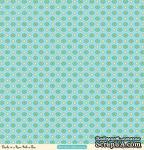 "Лист двусторонней скрапбумаги от October Afternoon - ""Ducks in a Row"" Collection - Peek-a-Boo, 30х30 - ScrapUA.com"